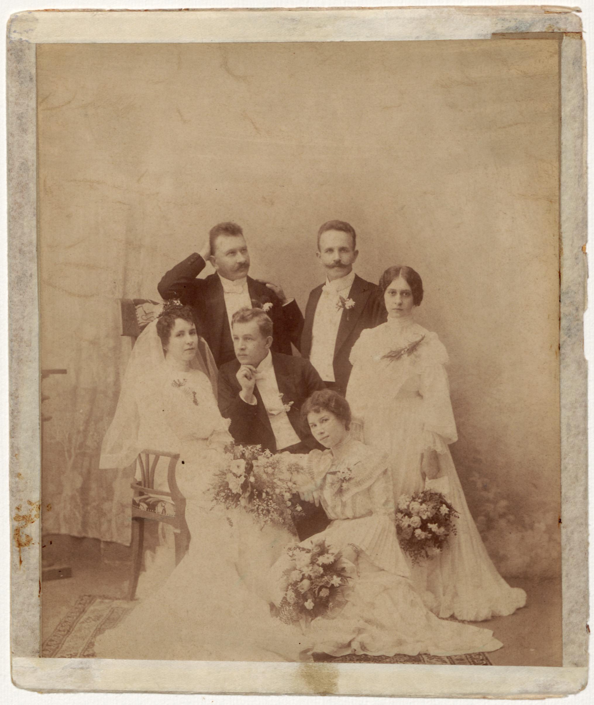 Ślub Wojciecha Korfantego i Elżbiety Szprot. 5 X 1903