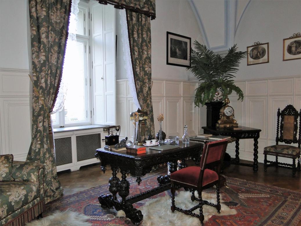 Gabinet pracy cesarza Wilhelma II
