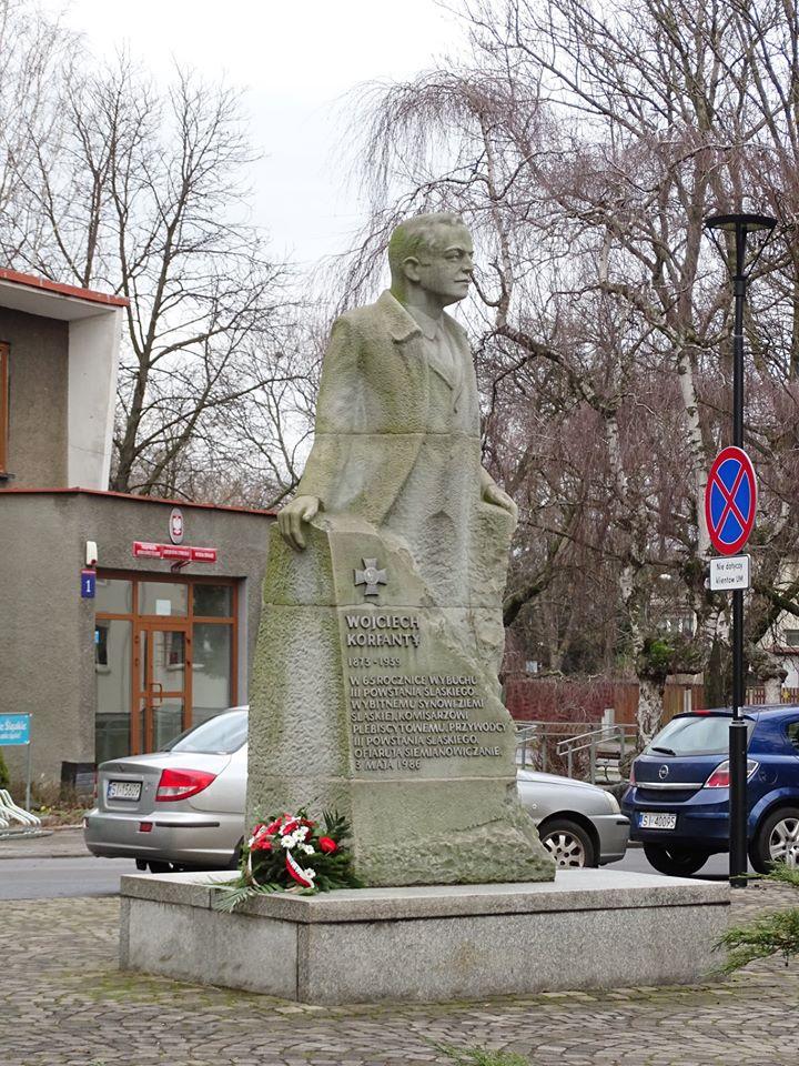 Pomnik Korfantego w Siemianowicach Śląskich