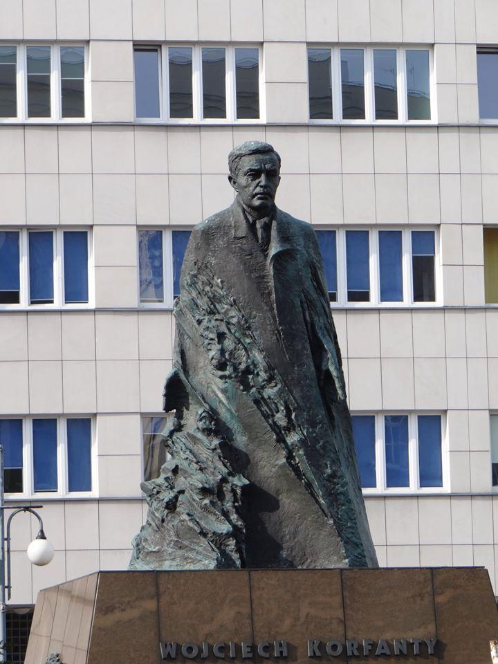 Pomnik Korfantego w Katowicach